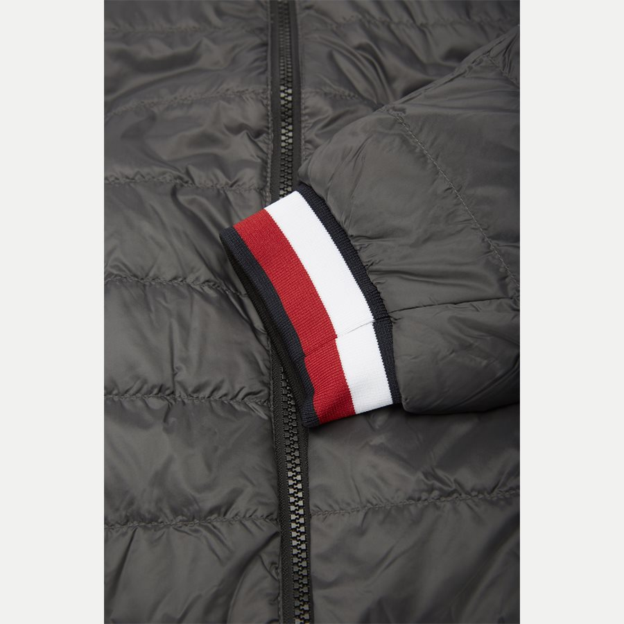REVERSIBLE NYLON DOWN JACKET 6927 - Vendbar Nylon Dunjakke - Jakker - Regular - GRÅ - 8