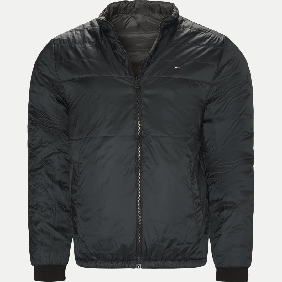 REVERSIBLE NYLON DOWN JACKET 6927 - Vendbar Nylon Dunjakke - Jakker - Regular - GRÅ - 11