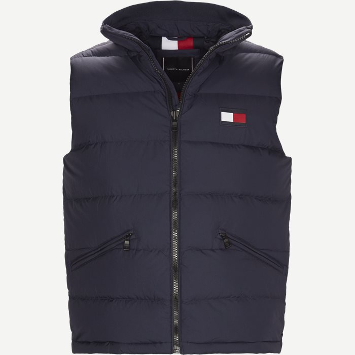 Down Vest - Veste - Regular - Blå