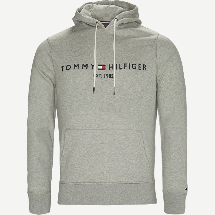 Logo Hoody  - Sweatshirts - Regular - Grå