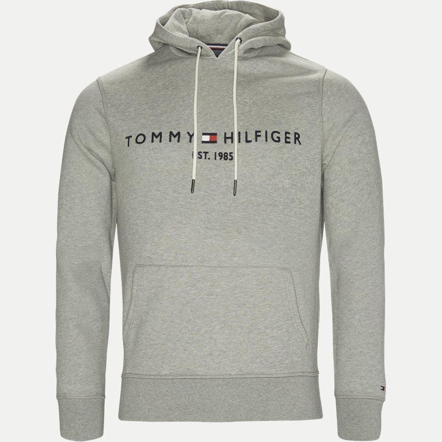 TOMMY LOGO HOODY 7609 - Logo Hoody  - Sweatshirts - Regular - GRÅ - 1