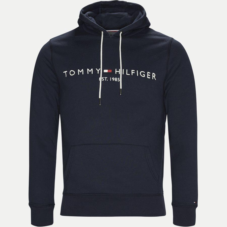 TOMMY LOGO HOODY 7609 - Logo Hoody  - Sweatshirts - Regular - NAVY - 1