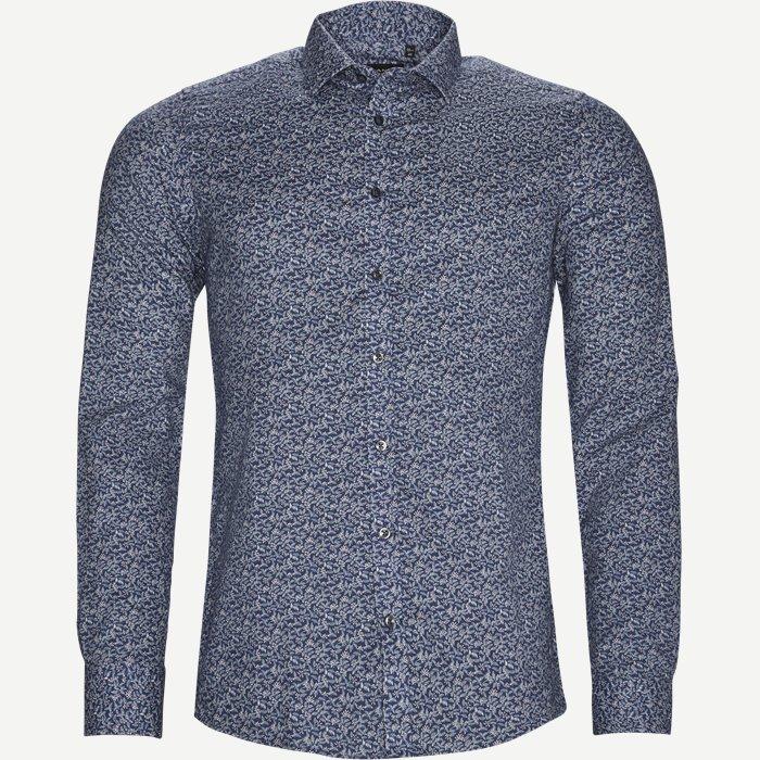 8016 Iver/State Skjorte - Skjorter - Blå