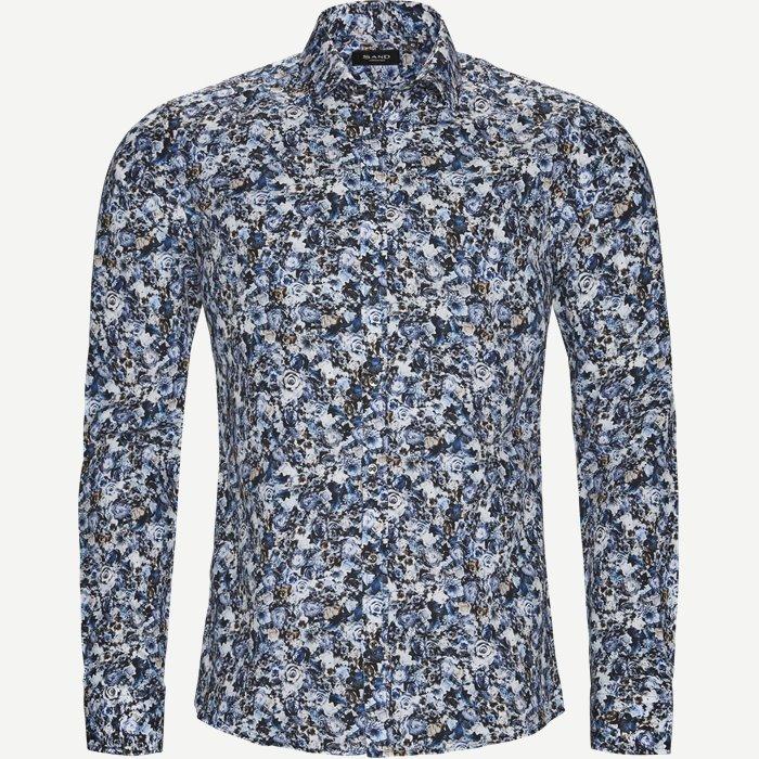 8067 Iver/State Skjorte - Skjorter - Blå