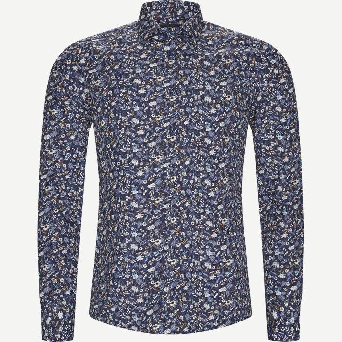8019 Iver/State Skjorte - Skjorter - Blå