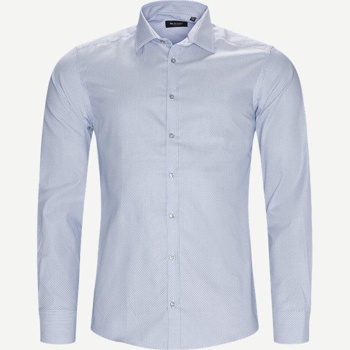 8044 Iver/State Skjorte - Skjorter - Blå