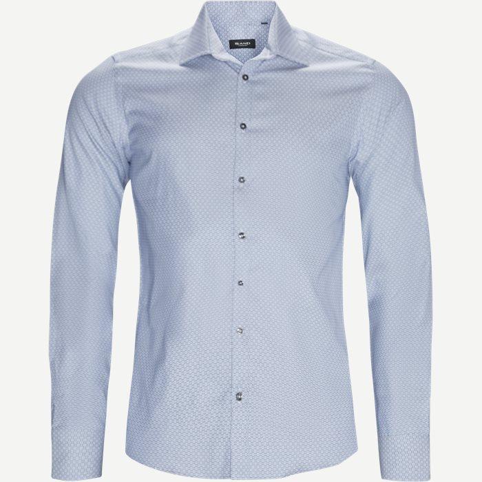 8038 Iver/State Skjorte - Skjorter - Blå