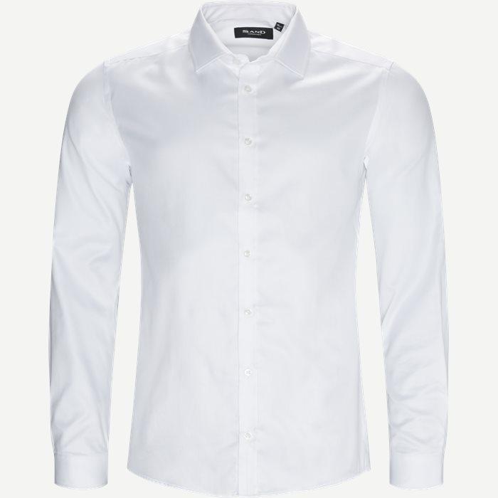 8103 Iver/State Skjorte - Skjorter - Hvid