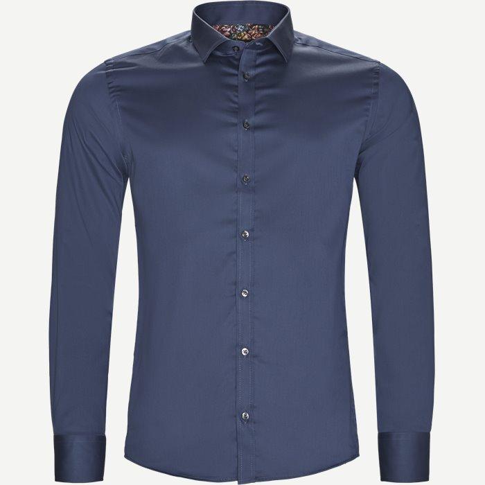 8589 Iver/State Skjorte - Skjorter - Blå