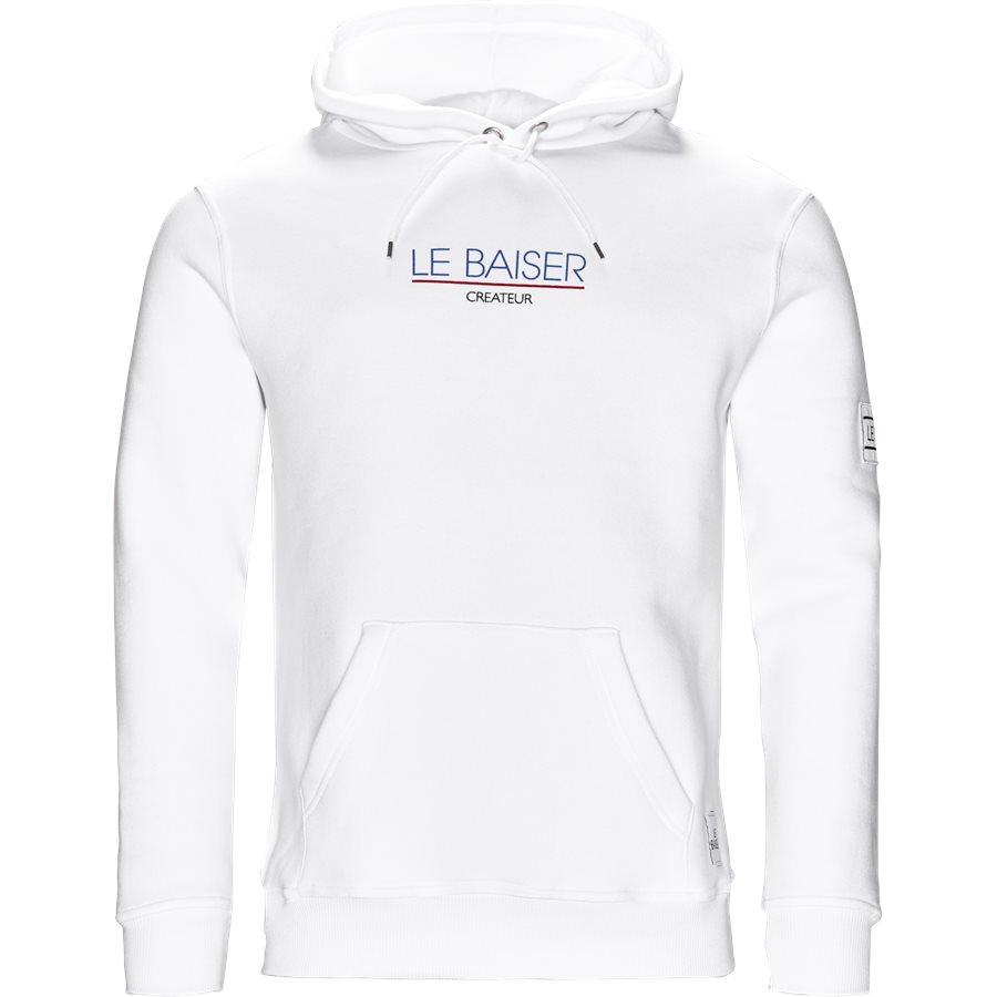 MONSIEUR - Monsieur Sweatshirt - Sweatshirts - Regular - WHITE - 1