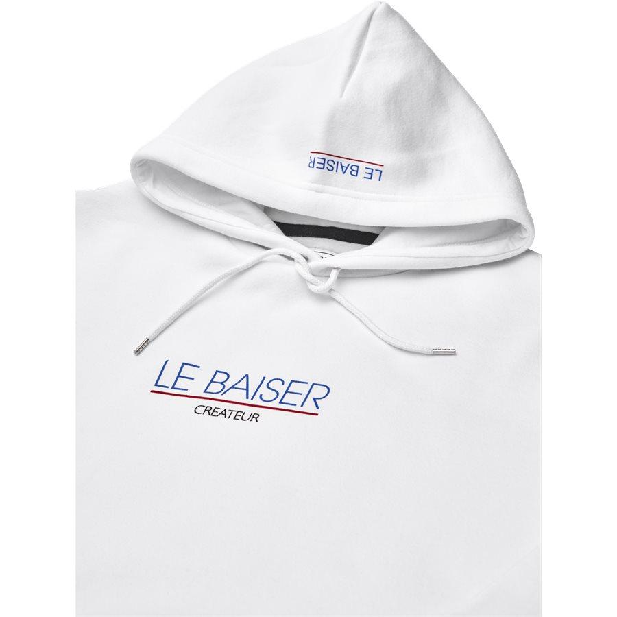 MONSIEUR - Monsieur Sweatshirt - Sweatshirts - Regular - WHITE - 3