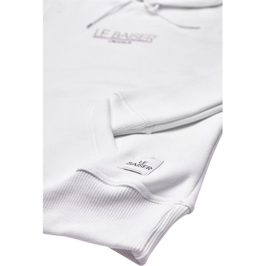 MONSIEUR - Monsieur Sweatshirt - Sweatshirts - Regular - WHITE - 4