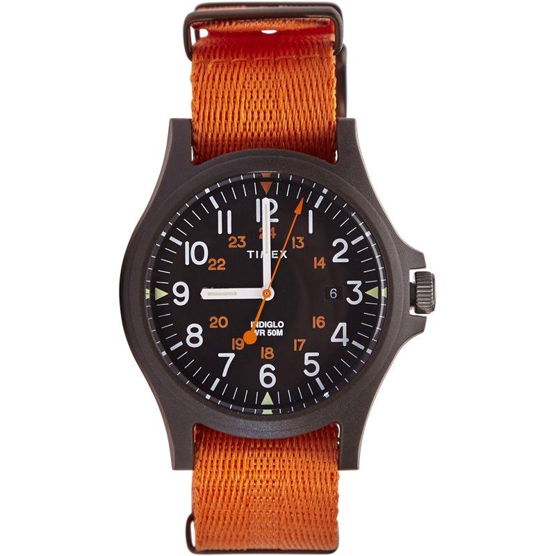 Timex color block double orange fra timex på quint.dk