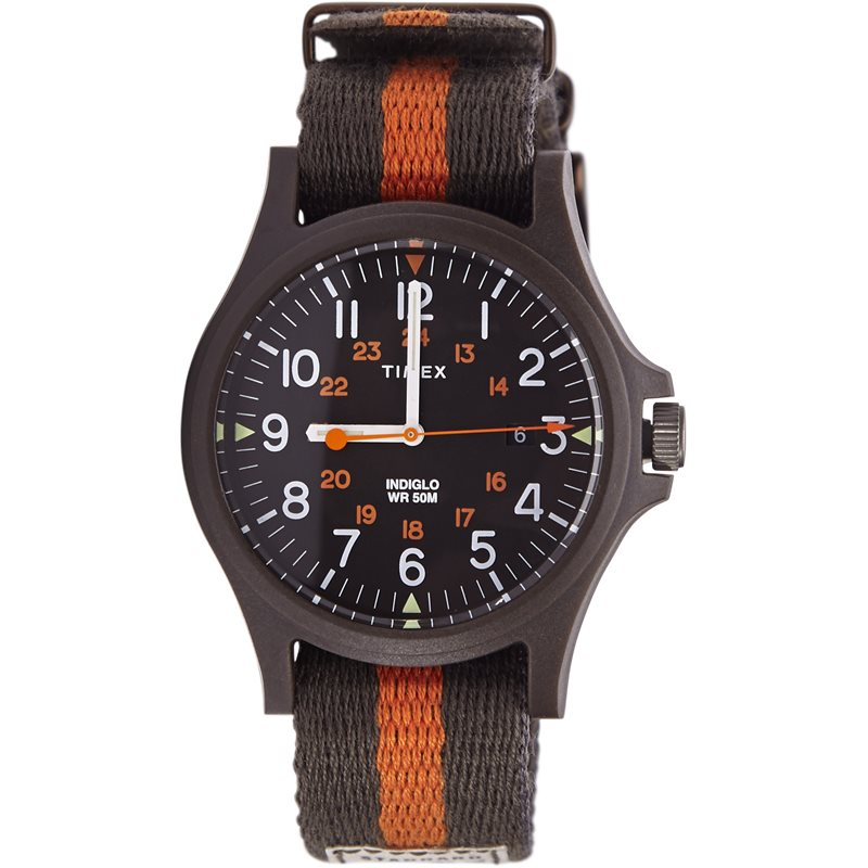 timex Timex color stripe single grøn/orange på quint.dk