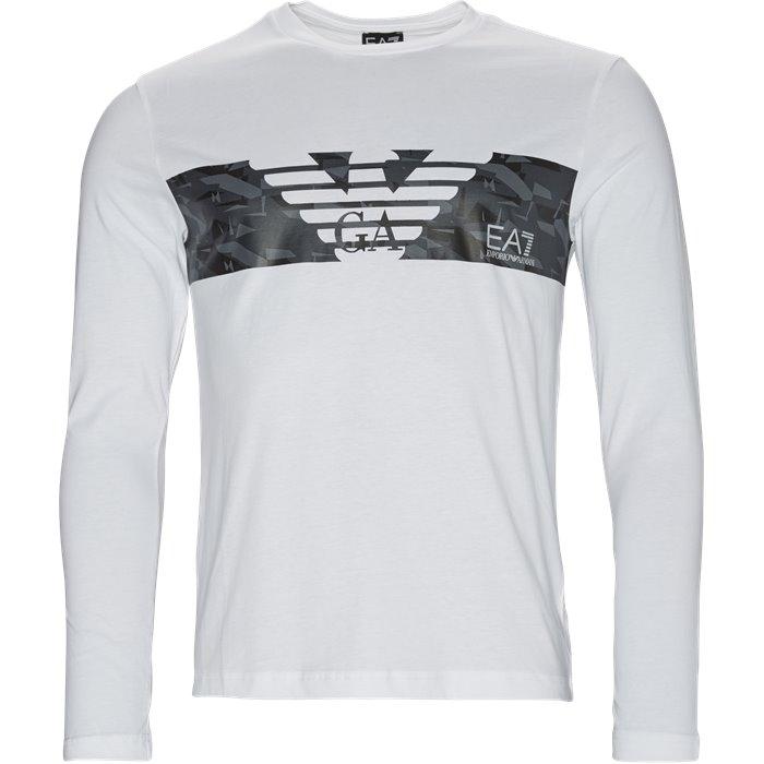 PJ30Z-3ZPT47 langærmet t-shirt - T-shirts - Regular - Hvid