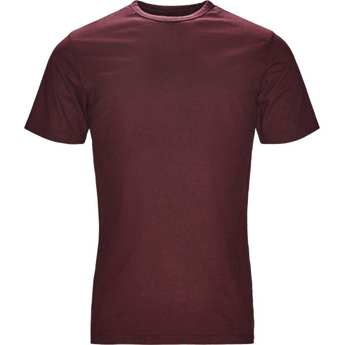 Dylan - T-shirts - Regular - Bordeaux