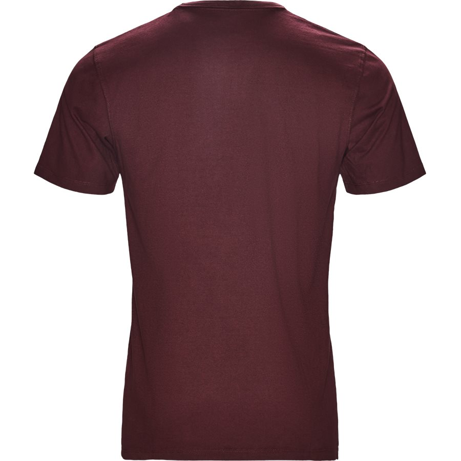 DYLAN - Dylan - T-shirts - Regular - BORDEAUX - 2