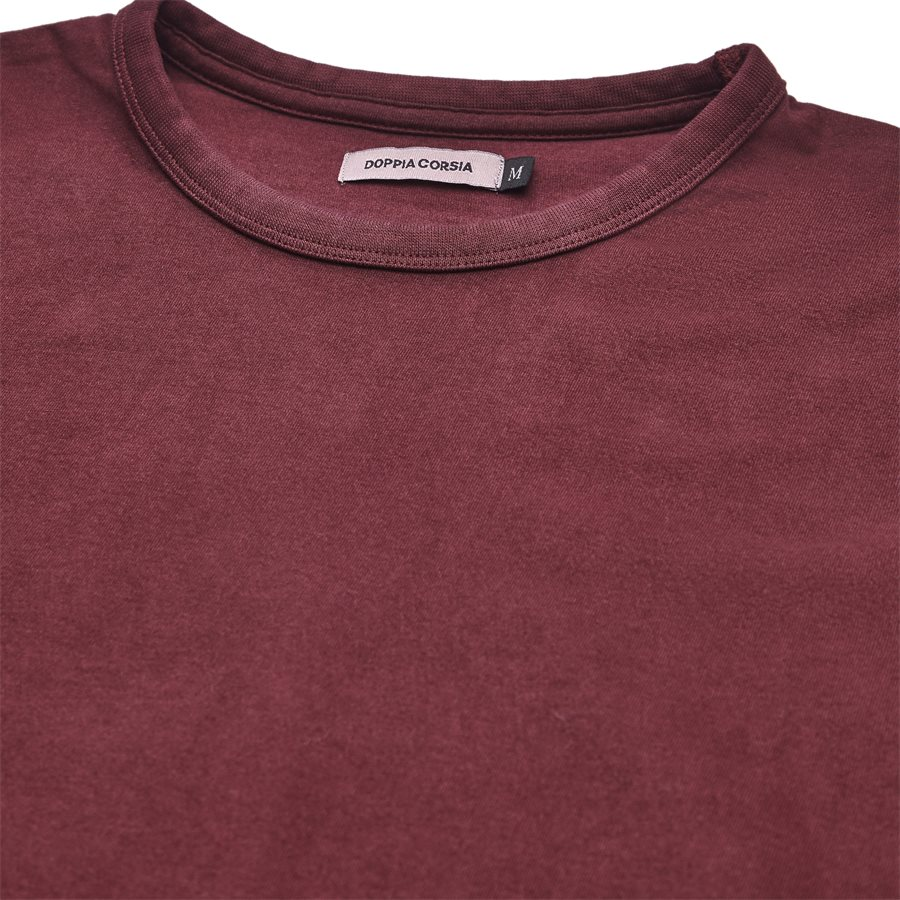 DYLAN - Dylan - T-shirts - Regular - BORDEAUX - 3