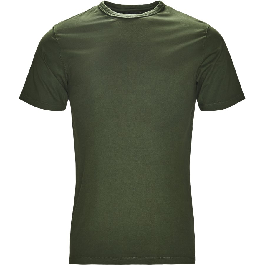 DYLAN - Dylan - T-shirts - Regular - GRØN - 1