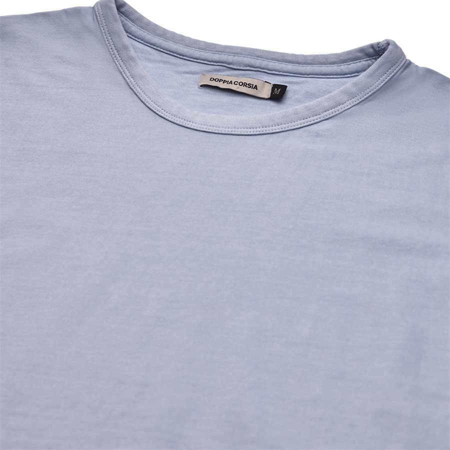DYLAN - Dylan - T-shirts - Regular - LYSBLÅ - 3