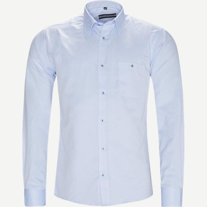 Baldur Skjorte - Skjorter - Regular - Blå