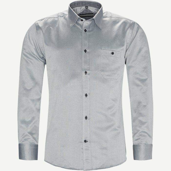 Bruno Skjorte - Skjorter - Regular - Grå