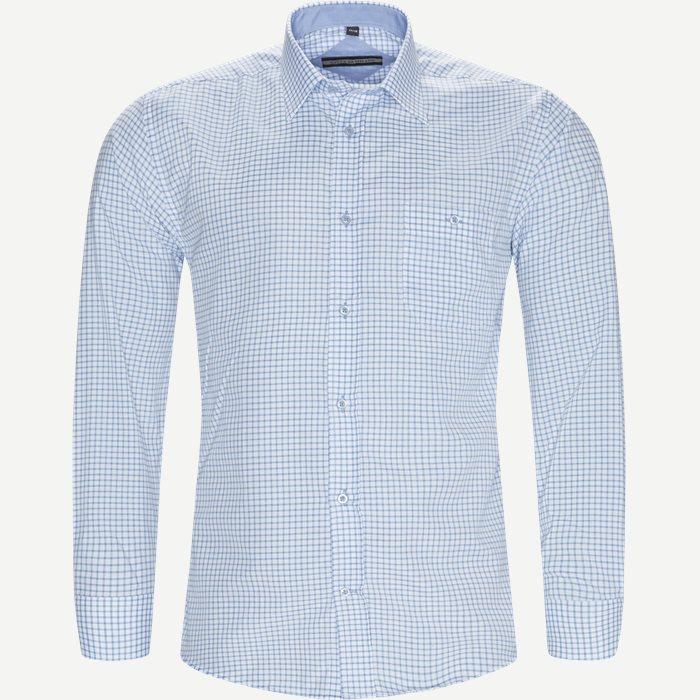 Bue Skjorte - Skjorter - Regular - Blå