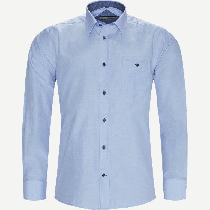 Boje Skjorte - Skjorter - Regular - Blå