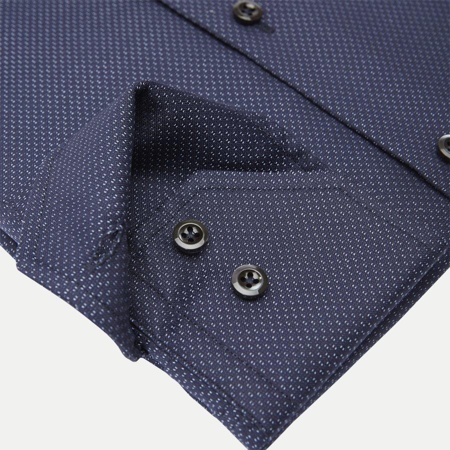 7689 712771/612771 - Twofold Super Cotton Skjorte - Skjorter - NAVY - 4