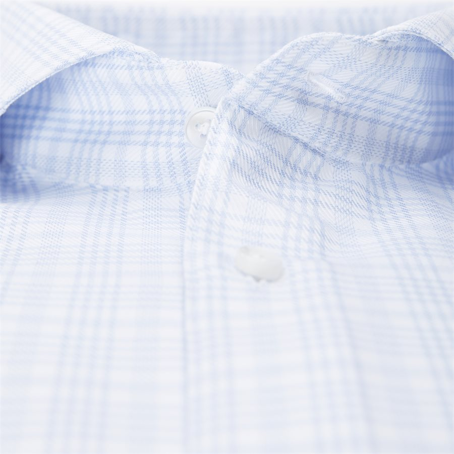 7642 702361/602361 - Twofold Super Cotton Skjorte - Skjorter - BLÅ - 3