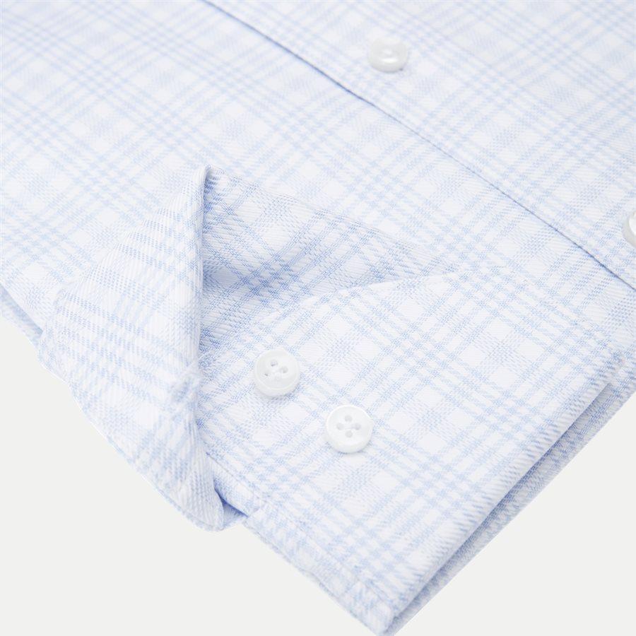 7642 702361/602361 - Twofold Super Cotton Skjorte - Skjorter - BLÅ - 4