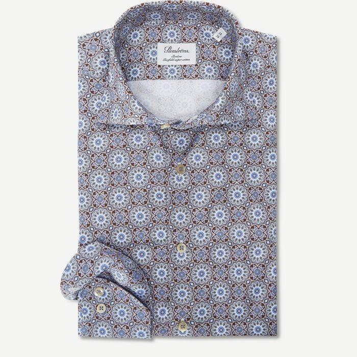 Twofold Super Cotton Skjorte - Skjorter - Brun