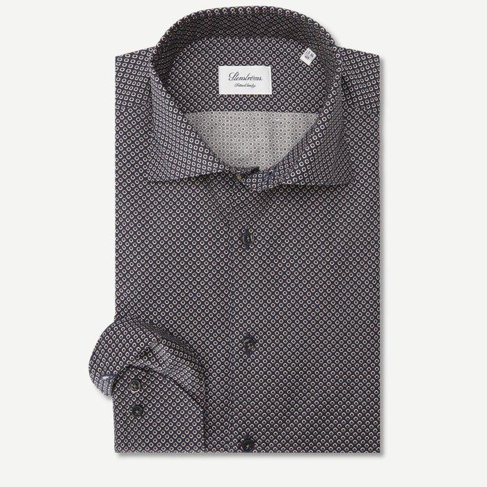 7604 Skjorte - Skjorter - Blå
