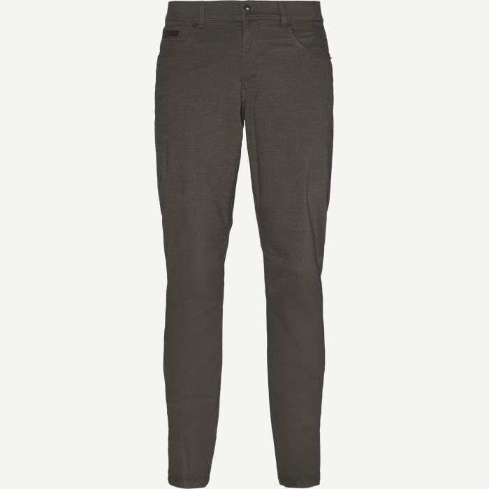 Jeans - Regular - Brun