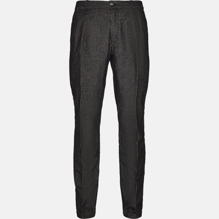 Trousers - Relaxed fit - Grey