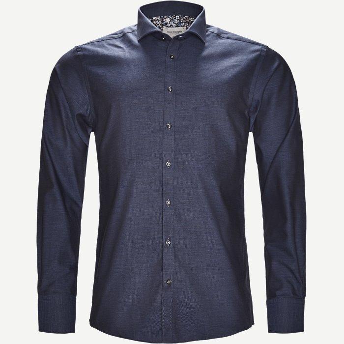 Aretha Skjorte - Skjorter - Slim - Blå