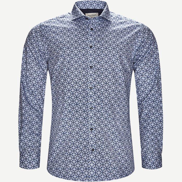 Turner Skjorte - Skjorter - Slim - Blå