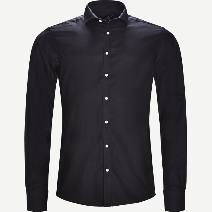 Fabrio Black Skjorte - Skjorter - Modern fit - Sort
