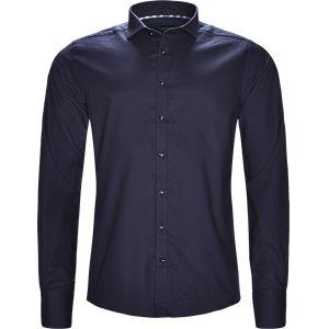 Asensio Skjorte Modern fit | Asensio Skjorte | Blå