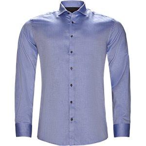 Eriksen Skjorte Modern fit | Eriksen Skjorte | Blå