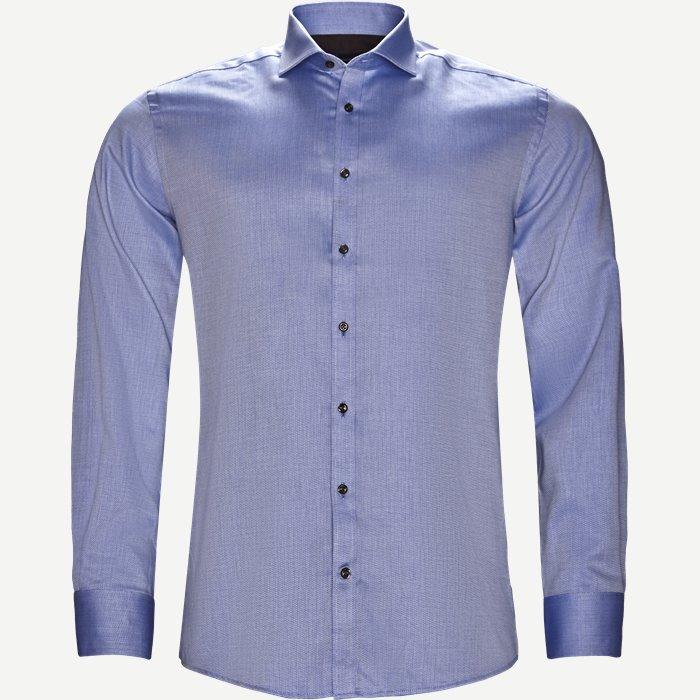 Eriksen Skjorte - Skjorter - Modern fit - Blå