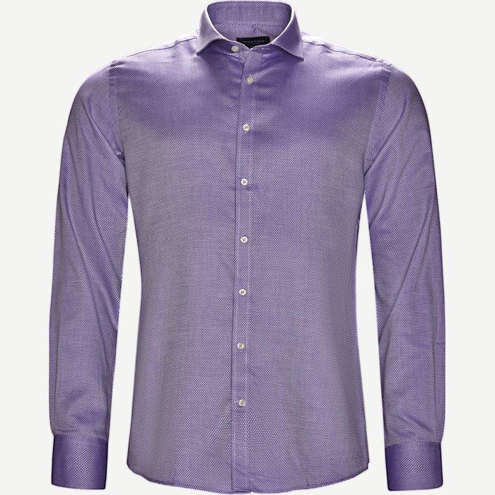 Hemden - Modern fit - Lila