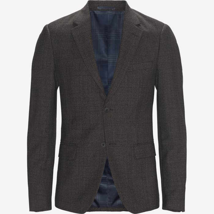 Blazer - Regular - Brun