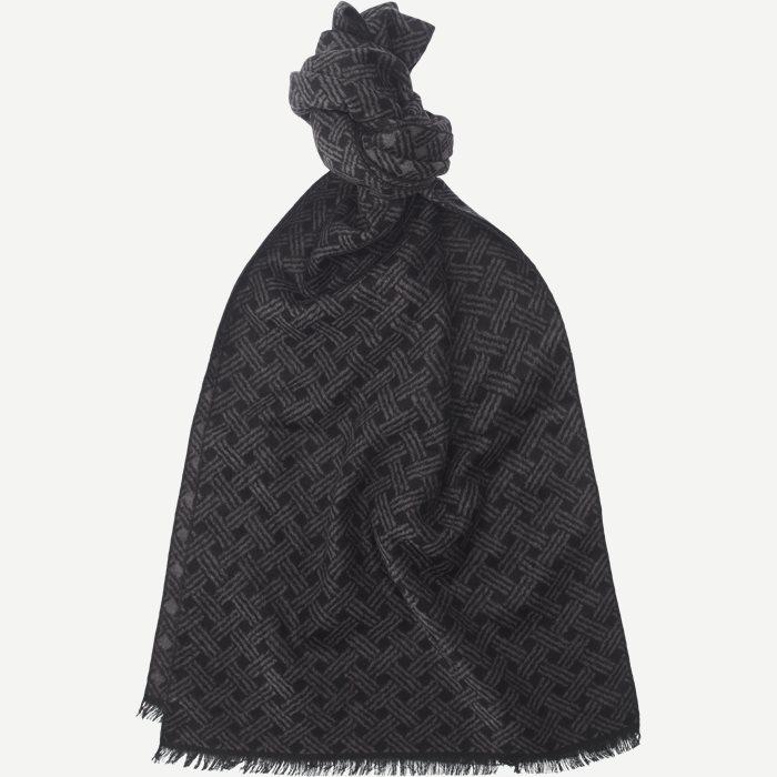 Silk Scarf - Tørklæder - Grå