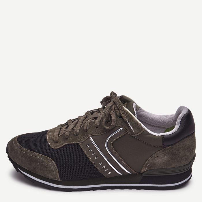 Schuhe - Oliv
