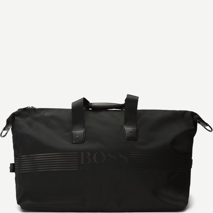 Pixel Holdall Weekend Bag - Tasker - Sort