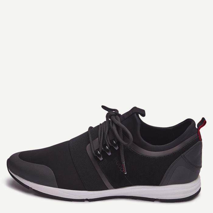 Hybrid_Run Sneaker - Sko - Sort