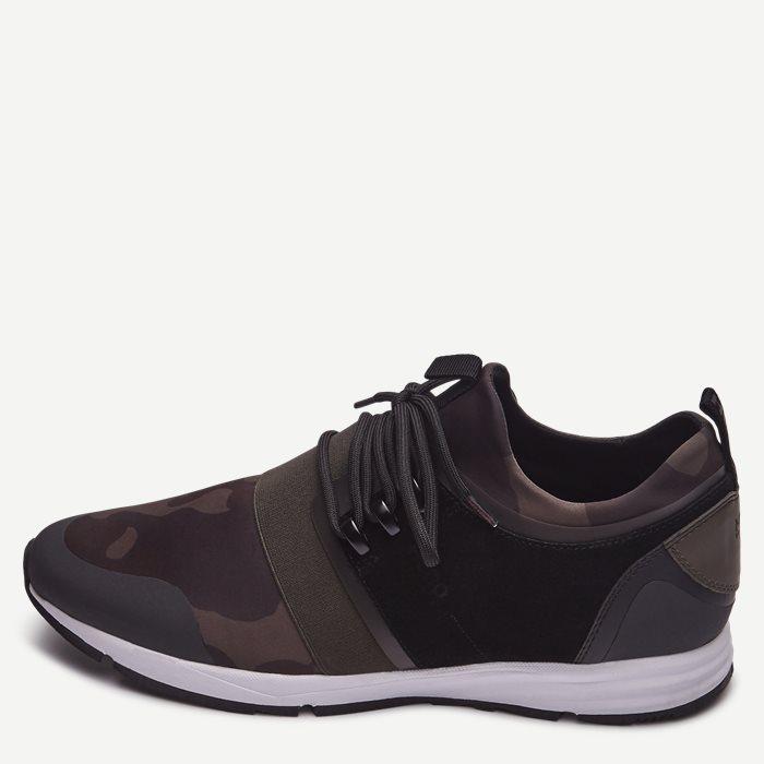 Hybrid_Run Sneaker - Sko - Army