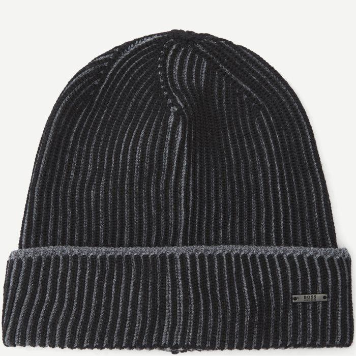 Ebalerio Hue - Caps - Sort