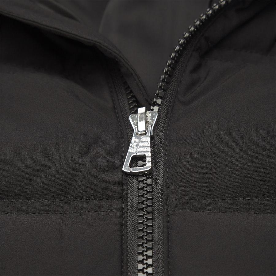 PNB7Z-6ZPB23 - Down Jacket - Jakker - Regular - SORT - 6